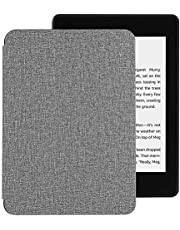 EasyAcc Pokrowiec na Kindle Paperwhite 2018 10.Generacji, Ultra Cienki Futerał Smartshell z Funkcją Automatycznego Usypiania / Budzenia, Kompatybilny z Modelami Kindle Paperwhite (10.Generacji - 2018), Szary 02