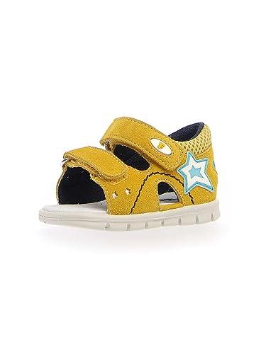 Falcotto Chaussures de Ville à Lacets Pour Garçon - Jaune - Jaune ib6la8e0Je,