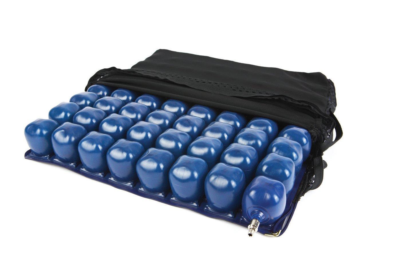 Kolbs Cushions Air Cell High Profile Wheelchair Seat Cushion, 18 by 16 Inch