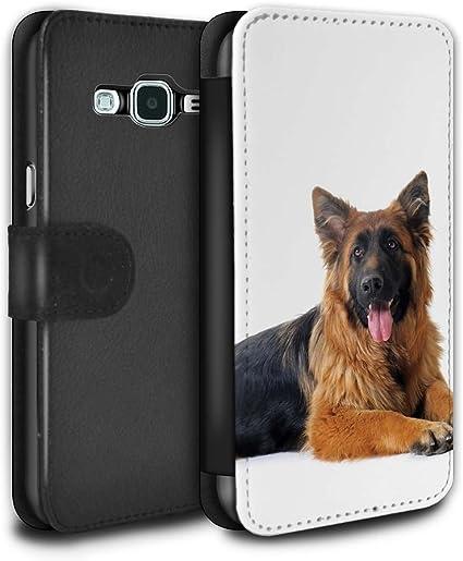 Stuff4 Coque pour Samsung Galaxy J3 Chiens Berger Allemand Désign ...