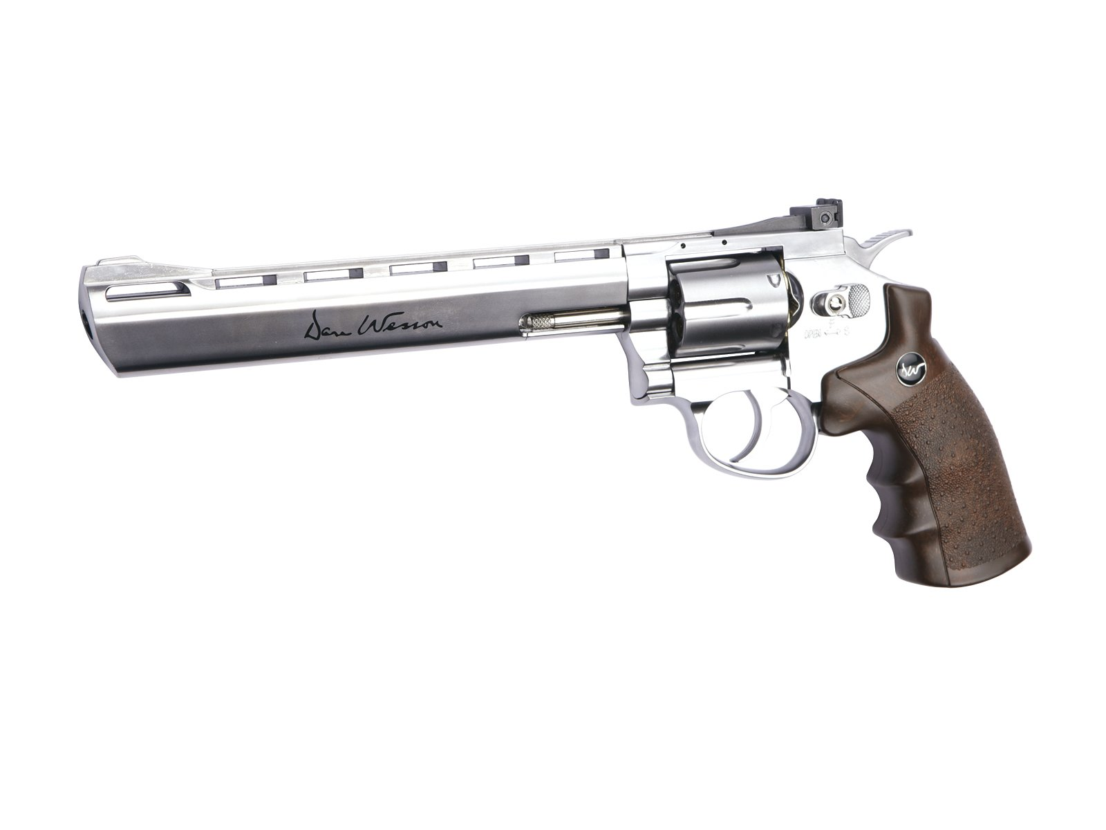 "ASG Dan Wesson 8"" CO2 Powered Airgun Revolver"