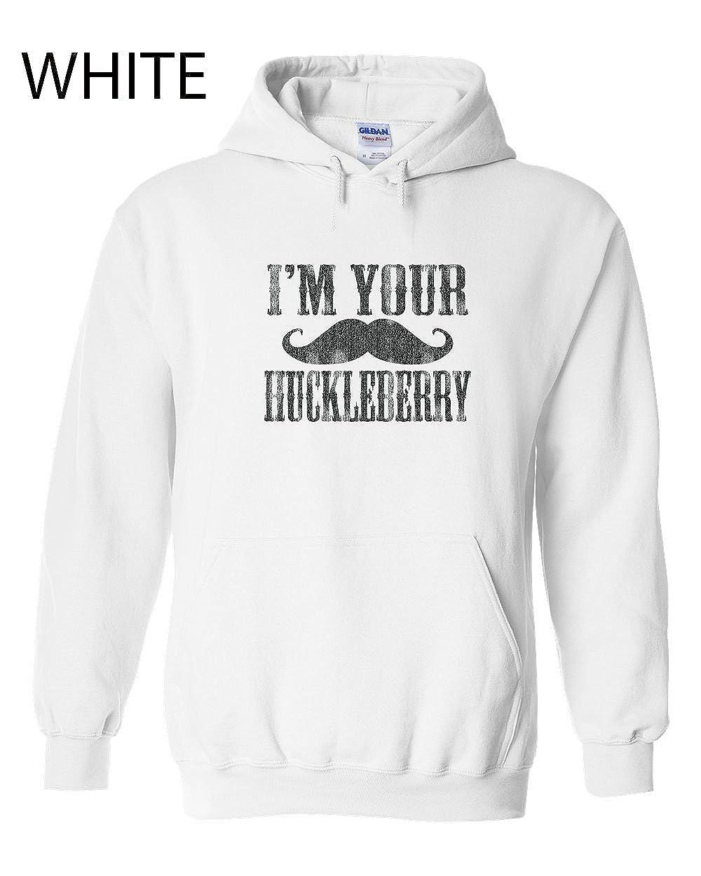 344 I/'m Your Huckleberry Funny Adult Hooded Sweatshirt