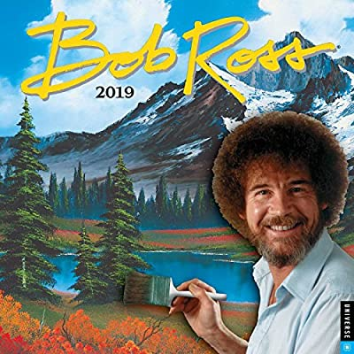 97017cf3 Bob Ross 2019 Wall Calendar: Bob Ross: 9780789334824: Amazon.com: Books