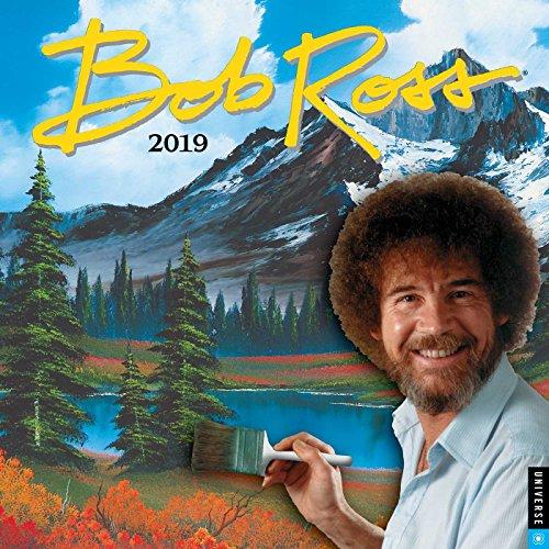 Bob Ross 2019 Wall Calendar