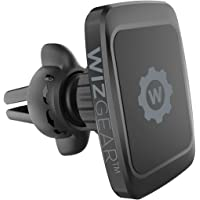 Magnetic Phone Car Mount, WizGear Universal Twist-Lock Air Vent Magnetic Car Phone Mount Holder, Phone Holder for Car Compatible with Cell Phones with Swift-Snap