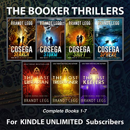 *** NEW RELEASE *** DESIGNED FOR KINDLE UNLIMITED SUBSCRIBERS.  This collection allows you to binge read books 1-7 of the international bestselling Booker Thrillers (according to the reading order recommended by the author). The action begins in the ...