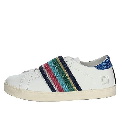 a D DonnaHill PelleElastico eSneakers Low WelasticIn t Pop lFK13TJc