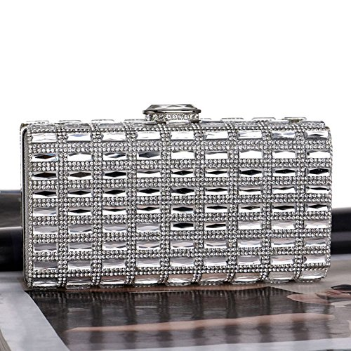 Ladies HKC And encrusted Evening Diamond Bag Bag Banquet America 3 Dress With Women's Europe Evening Bag xxwCnA