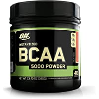 Optimum Nutrition Instantized BCAA Powder, Keto Friendly Branched Chain Essential Amino Acids, 5000mg, Fruit Punch, 40…