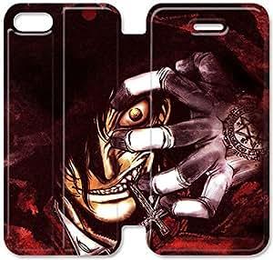 Funda iPhone 4 4S Funda Cuero, Klreng Walatina® PU Wallet Funda de piel cubierta para el Funda iPhone 4 4S Diseño por Anime R2V5Ap