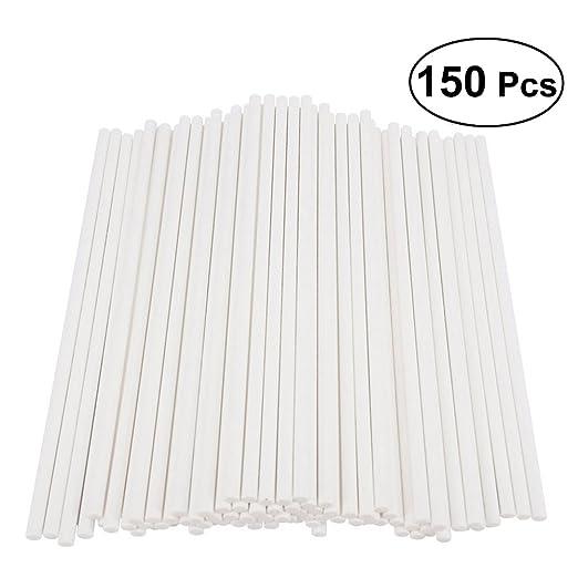 BESTONZON 150pcs papel chupete de pegamento de las varillas ...