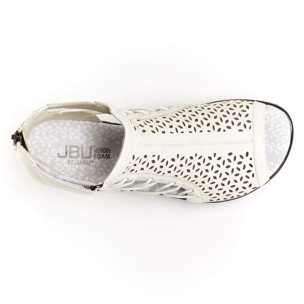 JBU Womens Nelly White 8 M US