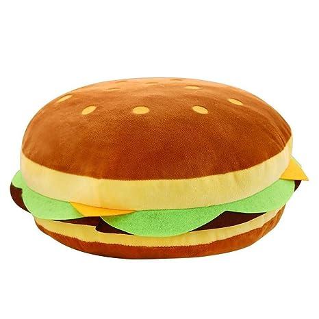 Amazon.com: Lixinke - Almohada de hamburguesa de queso ...