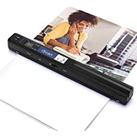 Magic Wand Portable Scanners for Documents, Photo, Old Pictures, Receipts, 900DPI, Scan A4 Color Page in 3sec, 16G…
