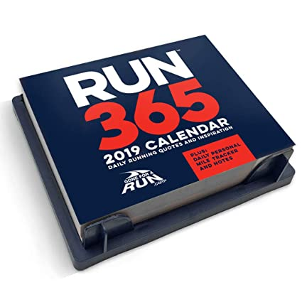 Amazon.com : 2019 Runners Daily Desk Calendar by Gone For a ...