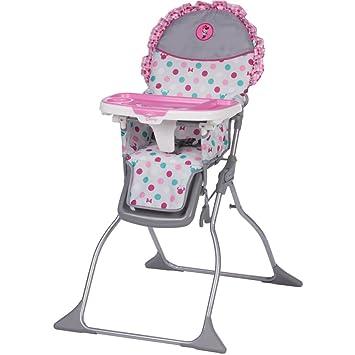 Sensational Disney Baby Simple Fold Plus High Chair Minnie Dot Fun Customarchery Wood Chair Design Ideas Customarcherynet