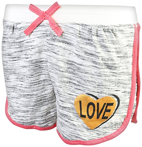 Real Love Girl's 4-Piece French Terry Short Sets, Live Love Shine, Size 5/6' by Real Love (Image #4)