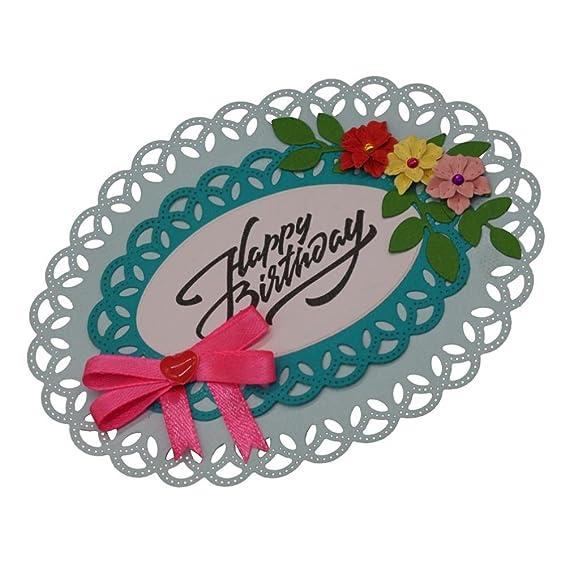 Plantillas de troquelado de flores, iHPH7, corazones, de metal, para manualidades, álbum de recortes, tarjetas de papel 796: Amazon.es: Juguetes y juegos