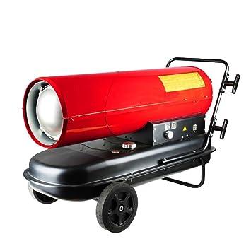 Calentador QFFL Industrial Estufa de Alta Potencia Estufa Estufa Caliente Invernadero Diesel Estufa de Aire Caliente 775 * 420 * 540mm Enfriamiento y ...