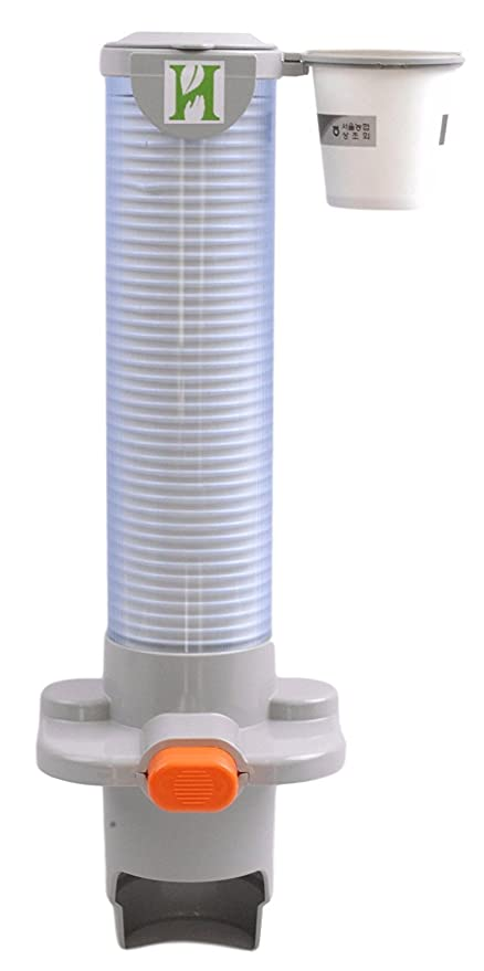 Naturaleza en mano imán de One Touch de montaje papel dispensador de vasos de agua con