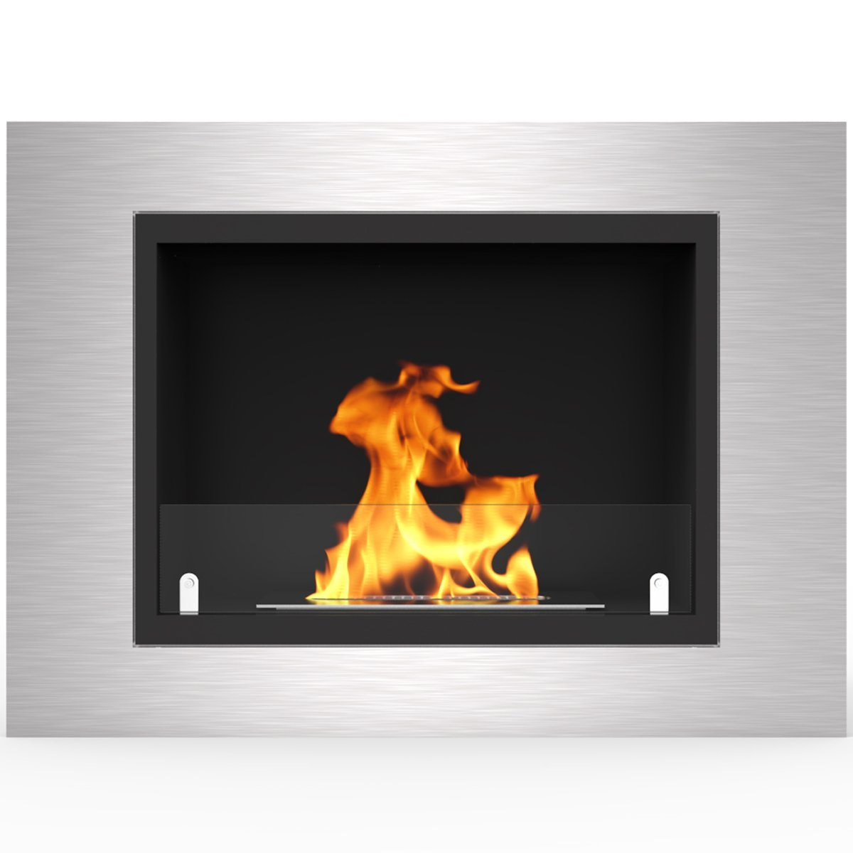 Regal Flame Venice 32'' Ventless Built In Wall Recessed Bio Ethanol Wall Mounted Fireplace Better than Electric Fireplaces, Gas Logs, Fireplace Inserts, Log Sets, Gas Fireplaces, Space Heaters, Propane by Regal Flame