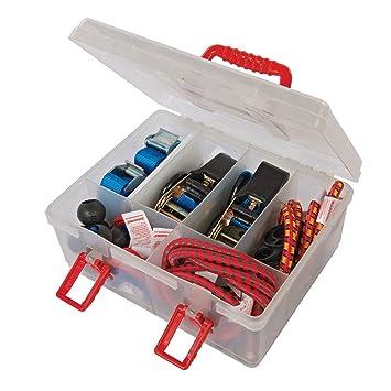 Silverline 671066 Tie-Down Strap /& Bungee Cord Security Set 16 Piece Kit