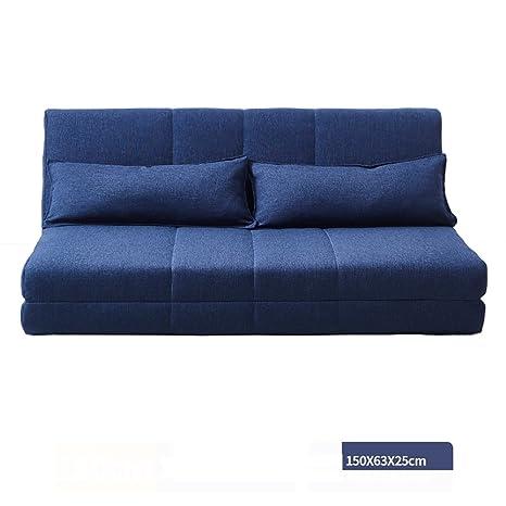 Amazon.com: XUE Sofá, plegable, lavable, sofá cama, tela ...