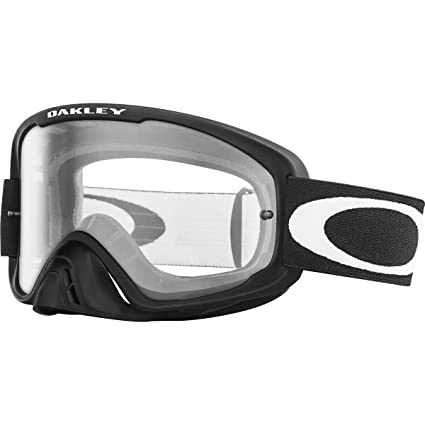 5aac4d7915 Image Unavailable. Image not available for. Color: Oakley O2 MX Men's Dirt  Off-Road Motorcycle Goggles Eyewear - Matte Black/Clear