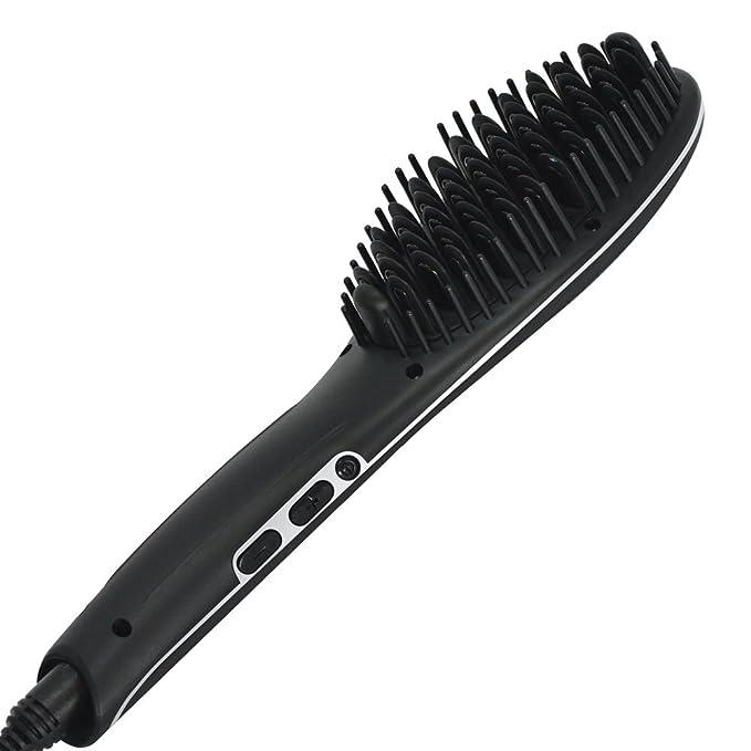 Sutra Heat Brush 2.0 - Cepillo eléctrico alisador para el pelo - Color Negro: Amazon.es: Belleza