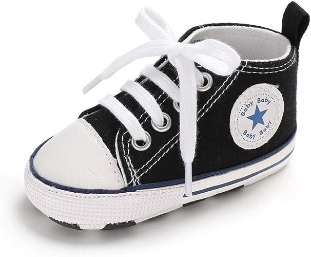 Amazon.com: Sakuracan - Zapatos de bebé para niños y niñas ...