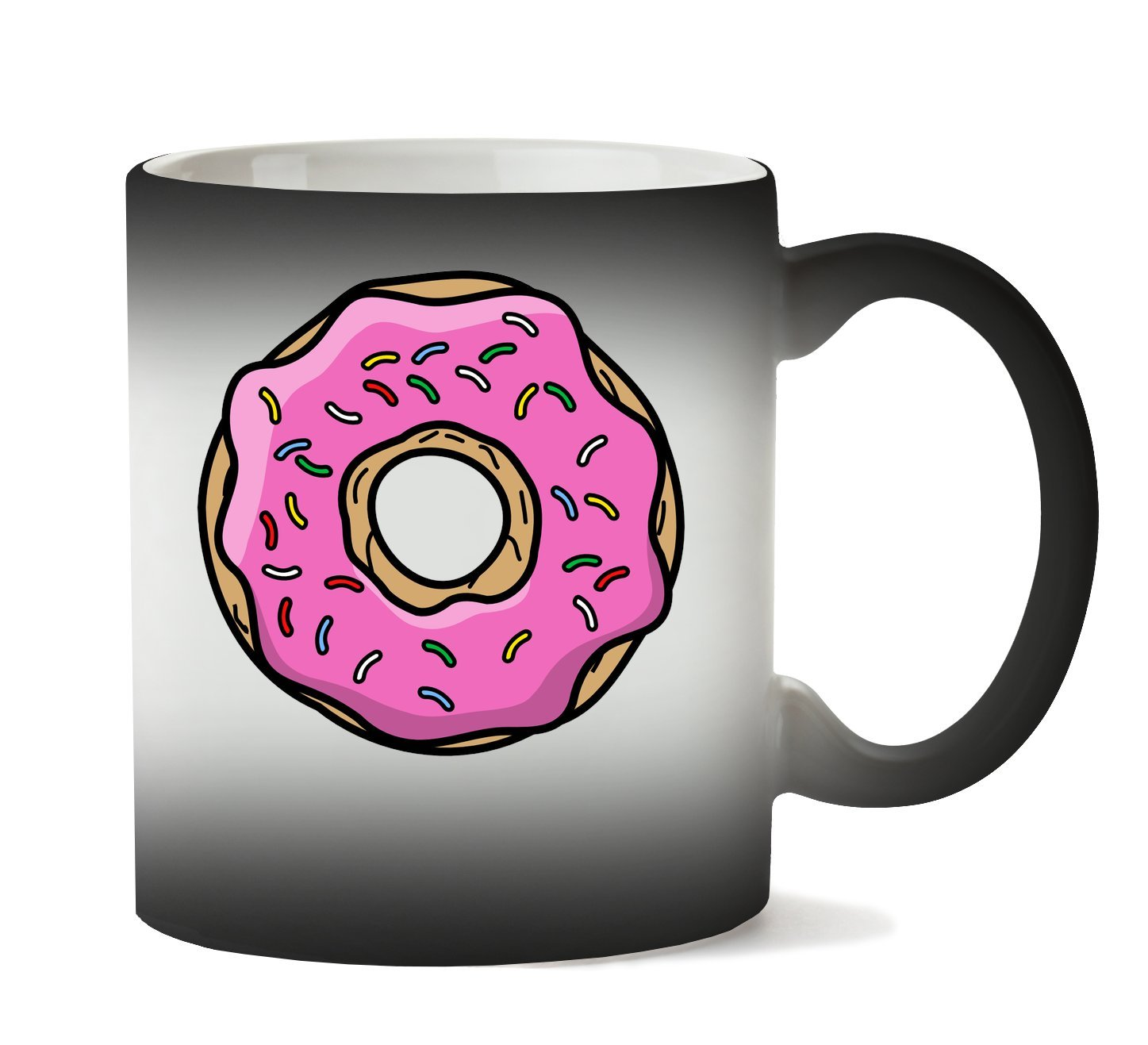 Taza con donut Cambio De Color con calorhttps://amzn.to/2BE93jL