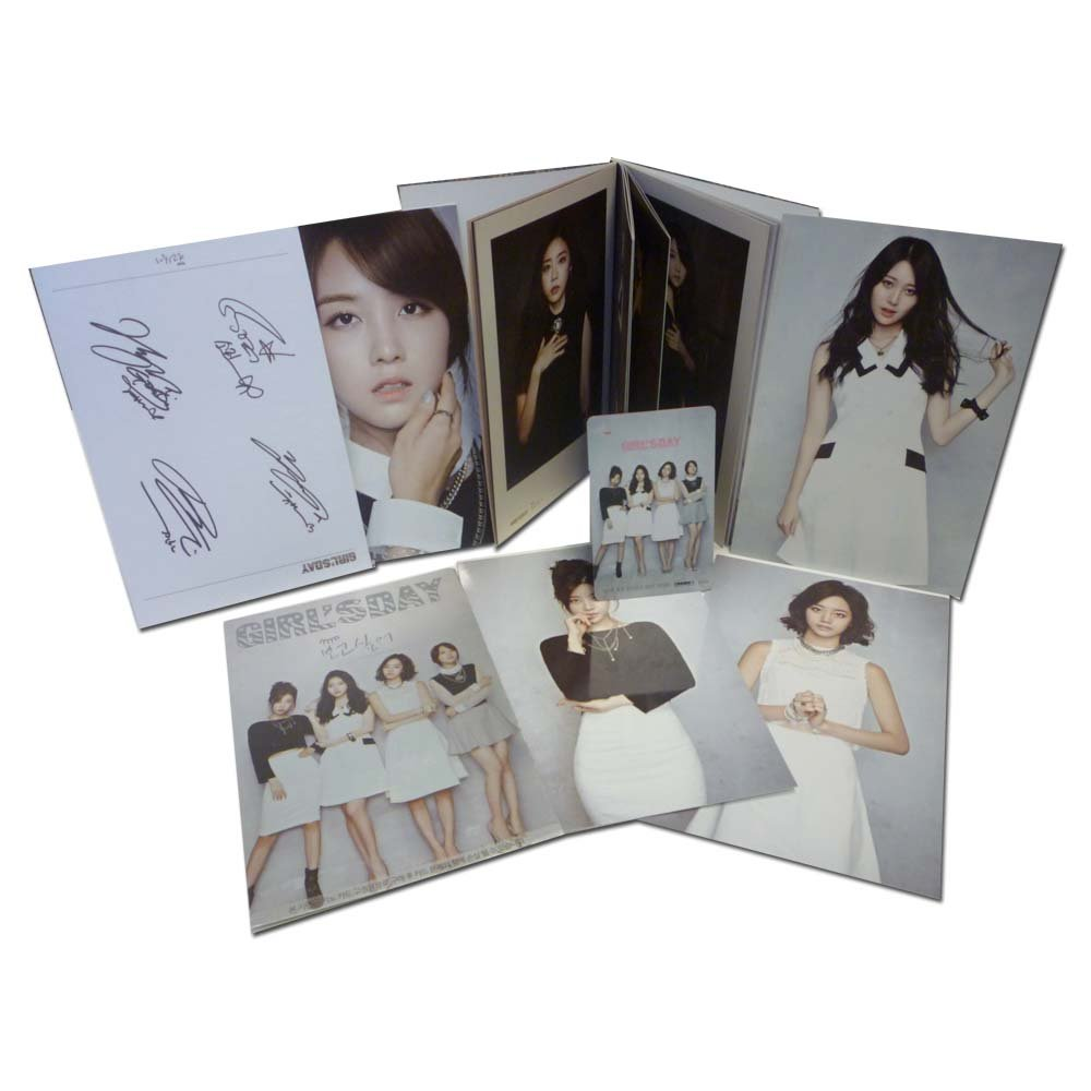 Kihno KPop, Girl's Day I Miss You NFC Smart Music Card for Android Smartphones Combo Pack - Retail Packaging - White