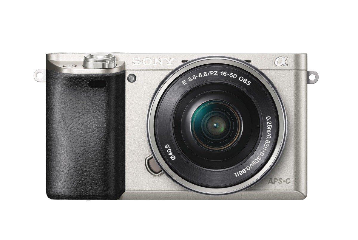 Sony A6000 Interchangeable Lens Digital Camera - Silver (24.3MP, SELP1650 Lens)
