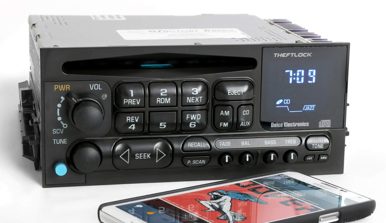 1 Factory Radio AM FM CD Player Radio w Bluetooth Upgrade Compatible on