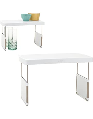 YouCopia StoreMore Height Expandable Kitchen Cabinet Shelf Organizer