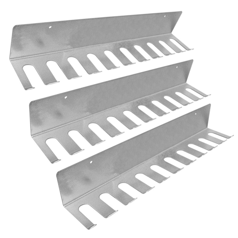 Peachtree 11506 Pipe Clamp Rack with 10 Clamp Slots 3 Pack by Peachtree Woodworking Supply