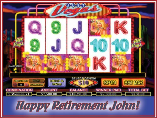 Verkaufen slot machine 61