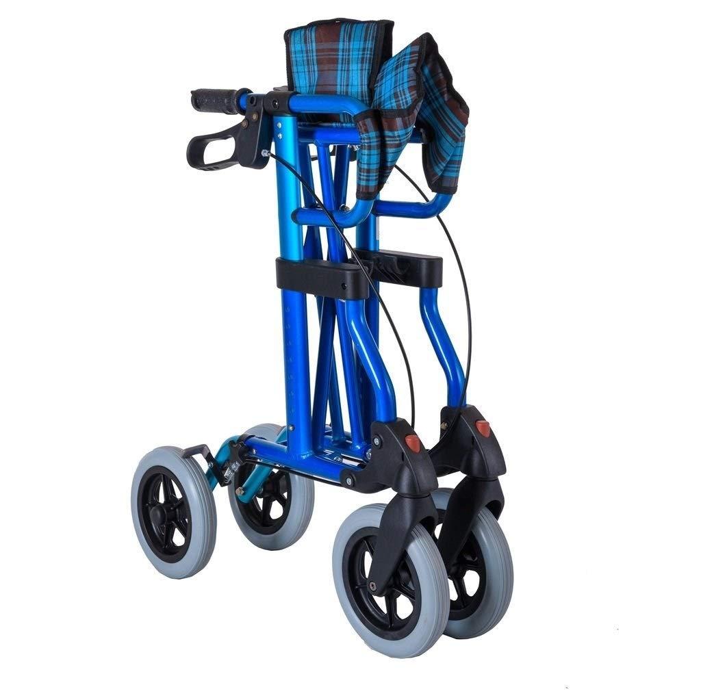 Rollator Walker Vive, Rolling Walker with Seat Adjustable Handle Height Lockable Brake Auxiliary Walking Safety Walker by YL WALKER (Image #5)