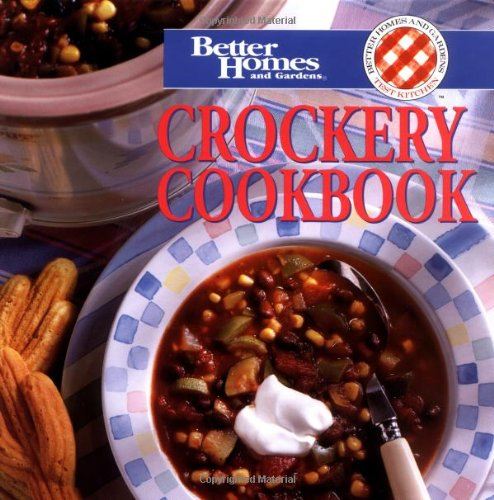 Crockery Cookbook (Better Homes & Gardens)