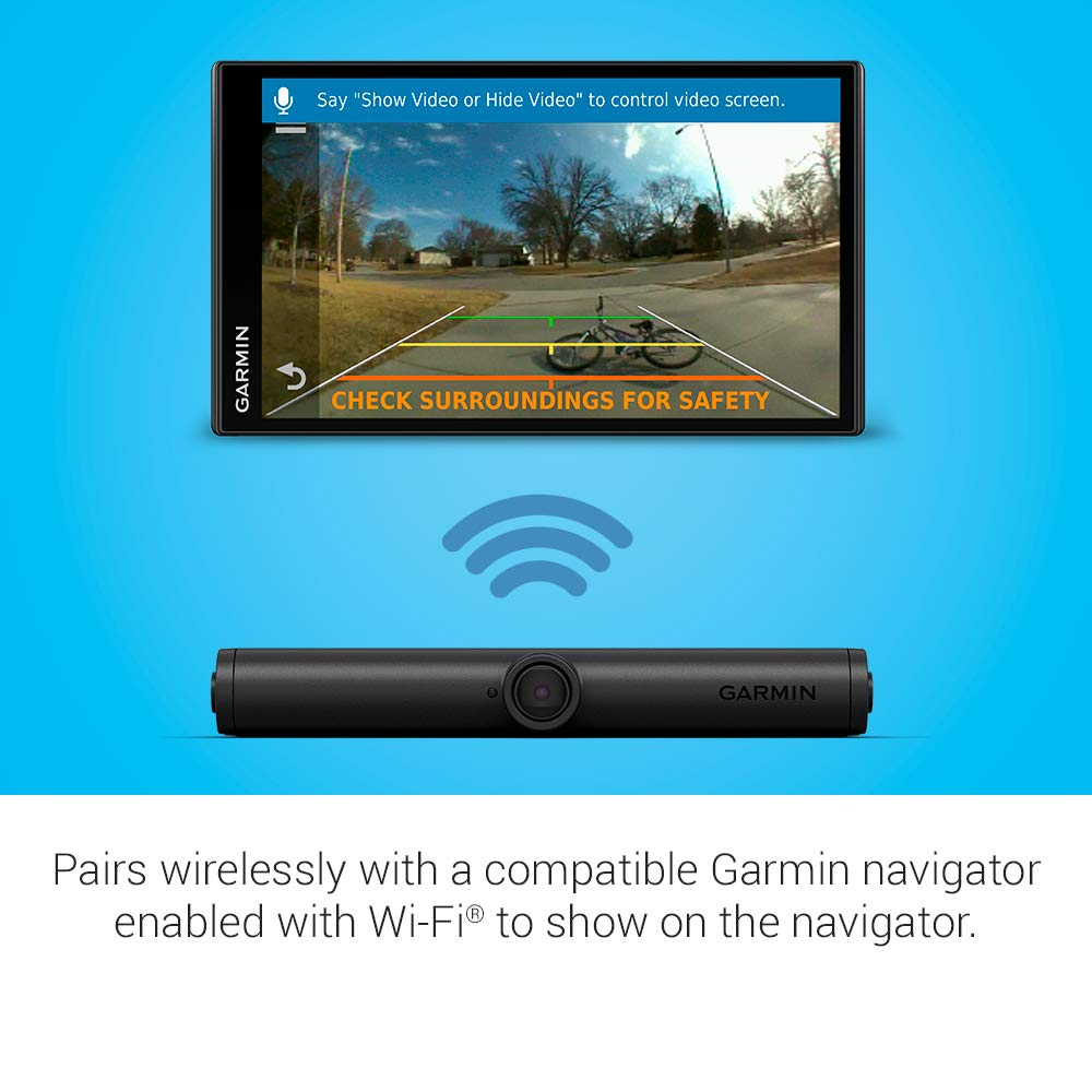 Works with Compatible Garmin Navigators Garmin BC 40 Wireless Backup Camera