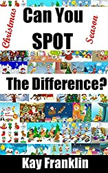 Spot the Difference Book Christmas Season: 25 Christmas Scenes With 10 Differences To Find For Each One