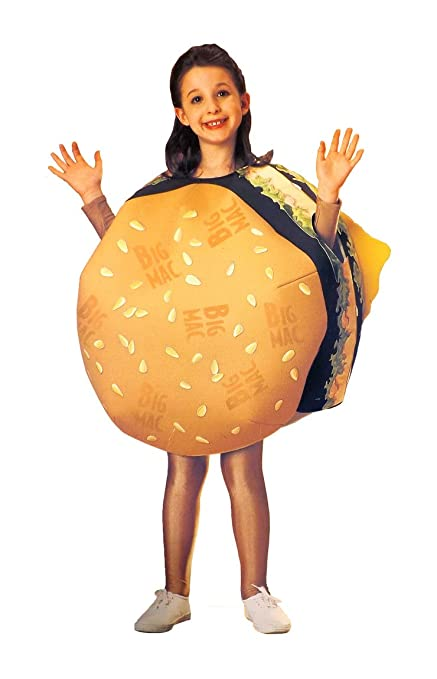 mcdonald child big mac cheeseburger halloween costume small