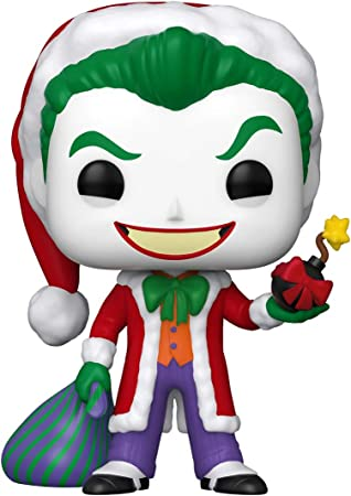 Funko Pop DC Heroes Santa Joker Vinyl Figure Holiday