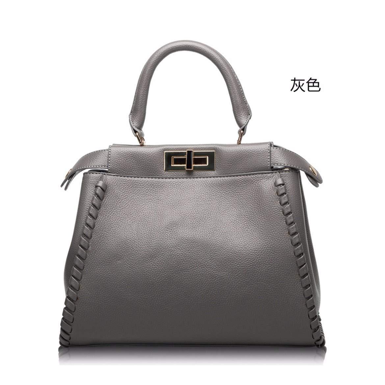 XUZISHAN Lady Leder Bag Eine Schulter Messenger Crossbody Fashion Handtasche Shell