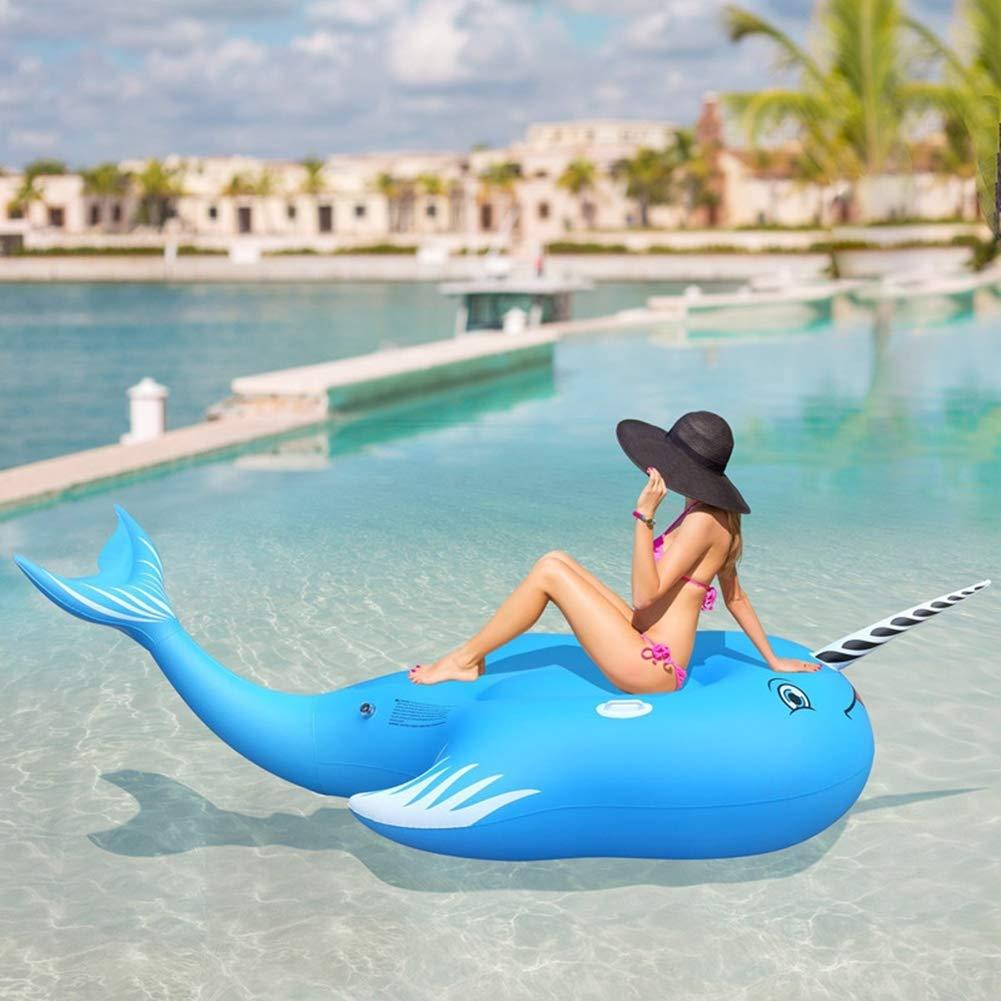 Amazon.com: Flotador hinchable para piscina, juguete para ...