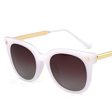 45c08b28f3f HCIUUI 2018 new sunglasses female fashion polarizer big box driving driving glasses  male Korean tide retro