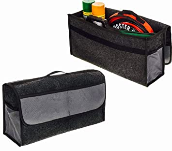 ADEPTNA - Bolsa de almacenamiento para maletero de coche, antideslizante, duradera
