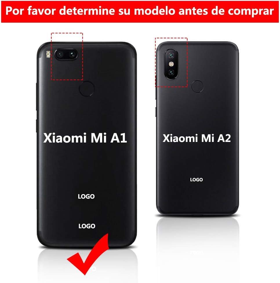 Pel/ícula Templada Pantalla LCD T/áctil Asamblea Repuesto Compatible con Xiaomi Mi A1 Negro con Herramientas Pegamento B7000