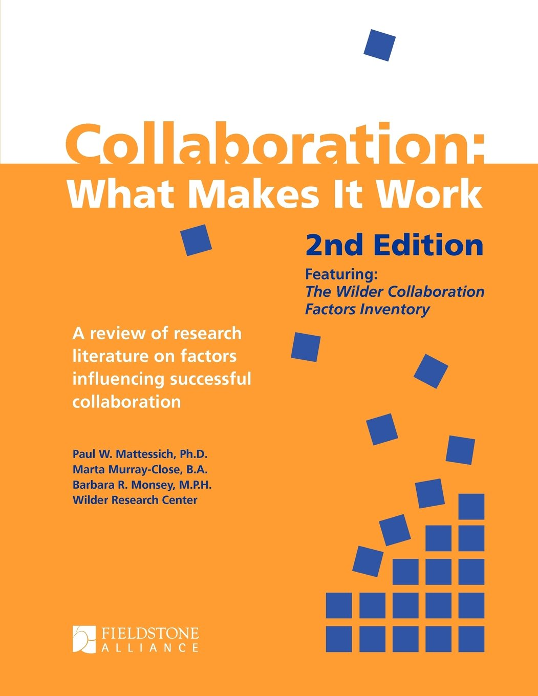 Literature craft and voice 2nd edition - Collaboration What Makes It Work 2nd Edition A Review Of Research Literature On Factors Influencing Successful Collaboration Paul W Mattessich