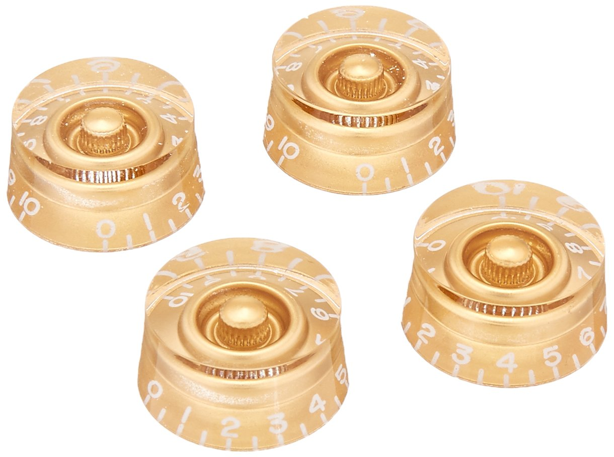 Gibson Gear PRSK-010 Speed Knobs 4-Pack de Boutons Noir